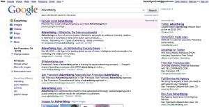 Google Ad Screen Shot
