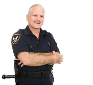 Good Cop Smiling